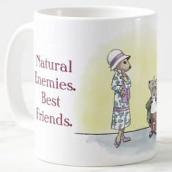 Natural Enemies, Best Friends Mug